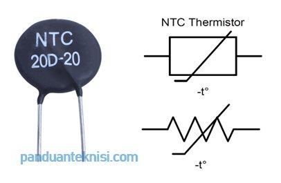 Gambar NTC thermistor