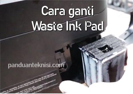 cara ganti waste ink pad epson L3110